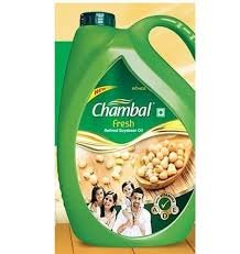 Chambal Fresh Refined Soyabean oil (5ltr*4 PCS)