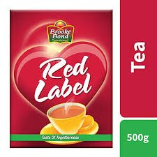 BROOKE BOND RED LABEL TEA 500GMS - MRP -235/-