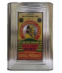 Tagore Mustard Oil(kaachi ghani)-15kg