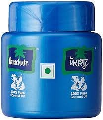 PARACHUTE COCONUT OIL 200ML MRP 90/-