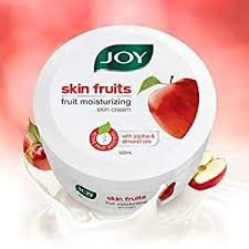 JOY SKIN FRUITS MOISTURIZING SKIN CREAM 15ML 24 UNITS MRP 10/- BOX MRP 240/-