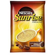 NESCAFE SUNRISE  MRP 10/-(36 UNITS* 9 GMS)