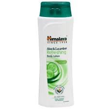 HIMALAYA  ALOE & CUCUMBER REFRESHING BODY LOTION 100ML MRP 85/-