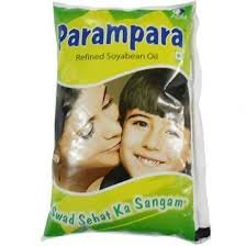 Parampara refined soyabeen oil(1ltr*16=16 POUCH)