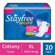 STAYFREE SECURE EXTRA LARGE MRP 115/-