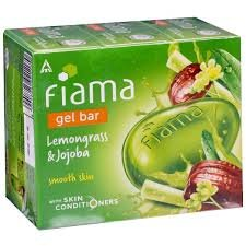 FIAMA GEL BAR LEMONGRASS 100GM MRP 35/-