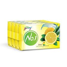 GODREJ NO 1 LIME ALOE VERA 4+1 MRP 68/- PER PC