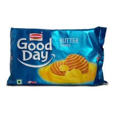 BRITANNIA GOOD DAY BUTTER COOKIES 200GM -MRP 30/-(20PCS)