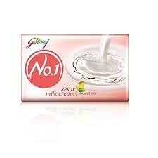 GODREJ NO.1 KESAR MILK CREAM MRP 10/-(12 UNITS)