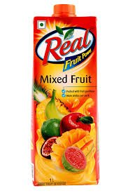 Real Mixed Fruit 1ltr MRP 110/-