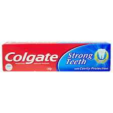 COLGATE STRONG TEETH 46GM MRP 20/-  (12PCS)