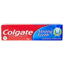 COLGATE STRONG TEETH 100+5 G EXTRA MRP 50/-