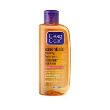 CLEAN & CLEAR FOAMING FACE WASH 100ML MRP 130/-