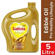 SAFFOLA GOLD EDIBLE OIL 5LTR
