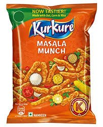 KURKURE MASALA MUNCH 25GM MRP 5/- (15PCS )