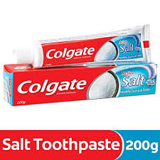 COLGATE ACTIVE SALT 200GM MRP 97/-