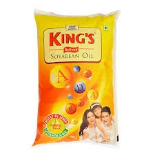 KINGS REFINED SOYABEAN OIL  1LTR (12PCS)