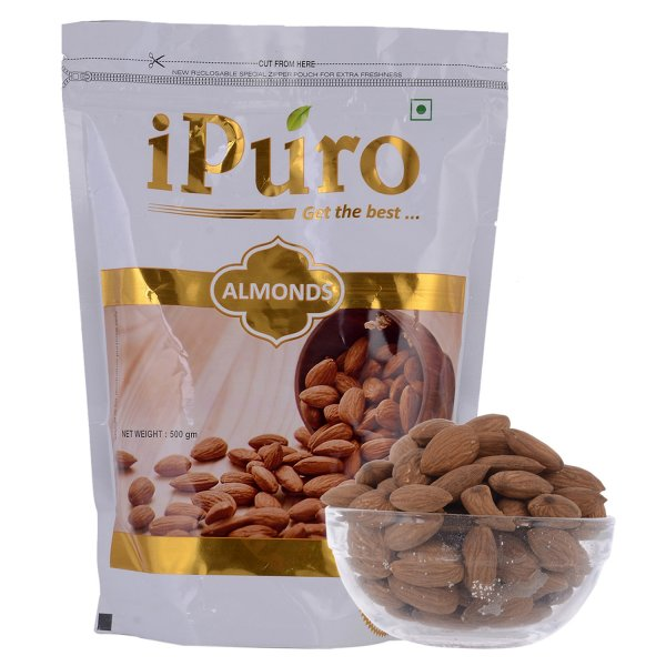 Almonds (500GM * 5KG = 10 PACKS)