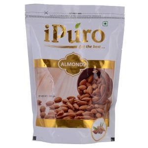 IPURO ALMONDS 500GMS
