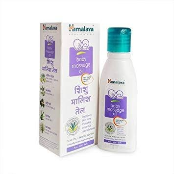 Himalaya Baby Massage Oil 50ml MRP 52/-