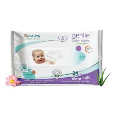 Himalaya gentle baby wipes 24wipes MRP 79/-