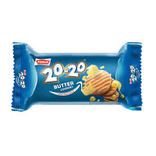 Parle 20-20 Butter Cookies  MRP5/- (12PCS)