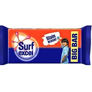 Surf Excel Big Bar 250gm MRP 29/-( 60PCS )