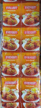 EVEREST  MEAT MASALA  HANGER 8GM 60PC MRP 300/-