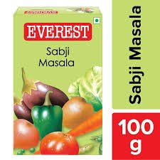 EVEREST SABJI MASALA   100GM MRP 54/-
