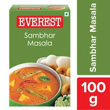EVEREST SAMBHAR  MASALA   100GM  MRP 63/-