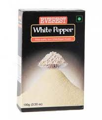 EVEREST WHITE PEPPER POWDER   100GM MRP 200/-