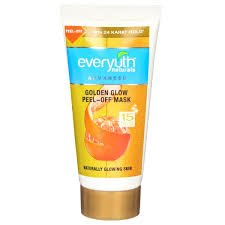 EVERYUTH AD GOLDEN GLOW PEEL -OFF MASK 30GM MRP  55/-