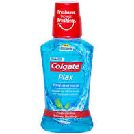 Colgate Plax Peppermint Fresh  250ml MRP-120/-(6 PCS)