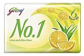 Godrej No1 lime 57g MRP 10/-(12 pcs)