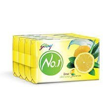 GODREJ NO 1 LIME ALOE VERA 4+1 MRP 76/-(36 set)