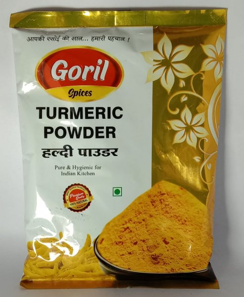 GORIL TURMERIC POWDER 200GM MRP 65/-