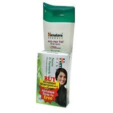 Himalaya Anti-Hair Fall Shampoo 200ml MRP-130/- Himalaya Soap 75g FREE