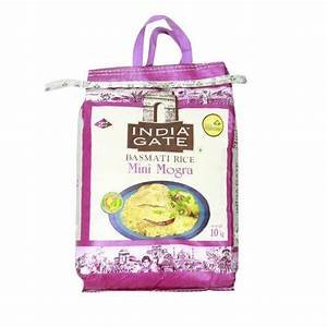 India Gate Basmati Rice  Mini Mogra 10kg MRP 515/-