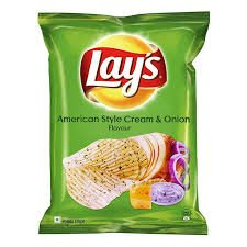 LAYS AMERICAN STYLE CREAM & ONION 15GM - MRP 5/- (15PCS )