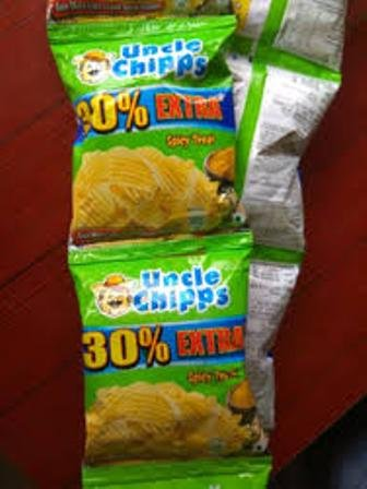 UNCLE CHIPPS SPICY TREAT 15.6 GM MRP 5/- (12PCS)