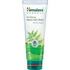 HIMALAYA PURIFYING NEEM FACE WASH 100ML MRP 120/-