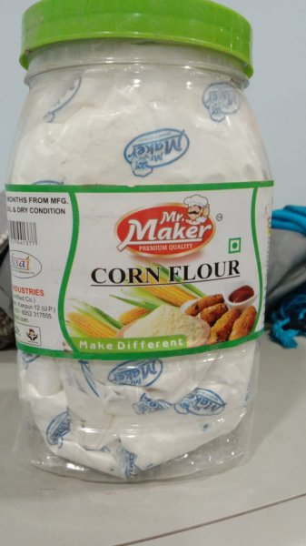 Mr. Maker Corn Flour 500g MRP-100/-