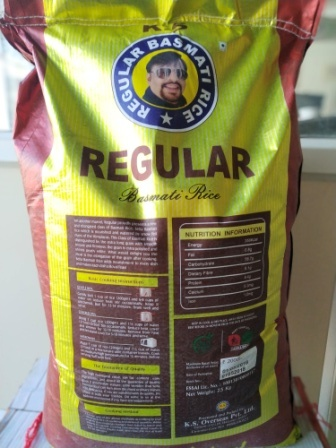 Double Chabi Regular Pakka Sabut Basmati Rice(25kg)