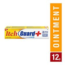 ITCH GUARD  WITH COOLING MENTHOL 12GM MRP 77/-