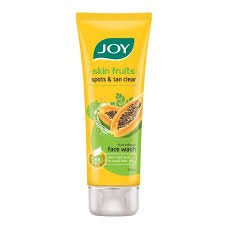 Joy Skin Fruits Spots & tan clear Face Wash 100ml MRP-110/-