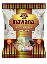 Mawana Brown Sugar 1Kg MRP-90/-