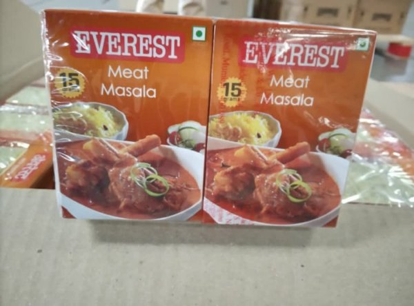 Everest Meat Masala Hanger 15g MRP-10/-(30 pcs)