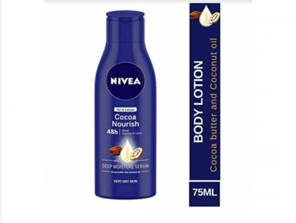 Nivea Oil in Lotion Cocoa Nourish with Deep Moisture Serum for Dry Skin 75ml MRP-95/-