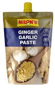 NILONS GINGER GARLIC PASTE 200GM MRP 65/-