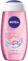 NIVEA SHOWER GEL WATERLILY & OIL 125ML MRP 125/-
